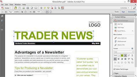 tutorial video editing pdf edit text in a pdf using acrobat xi tutorial