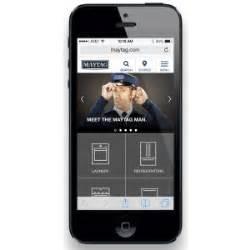 mobile site awards maytag mobile site design ux awards