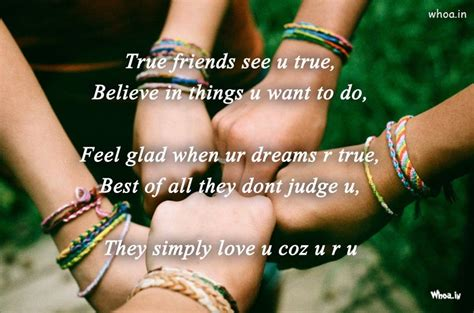 true friends friendship quote hd wallpaper