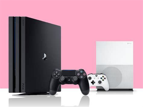 ps4 console vs xbox one playstation 4 pro vs xbox one s xgn nl
