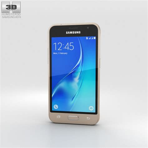 Samsung J1 Gold Samsung Galaxy J1 2016 Gold 3d Model Humster3d