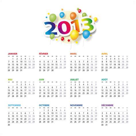 calendar design elements creative 2013 calendars design elements vector set 21
