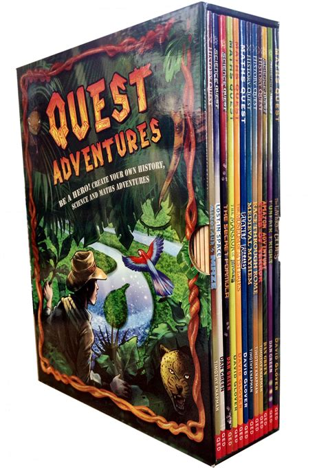 the scientist s adventure books quest adventures collection maths science history 12