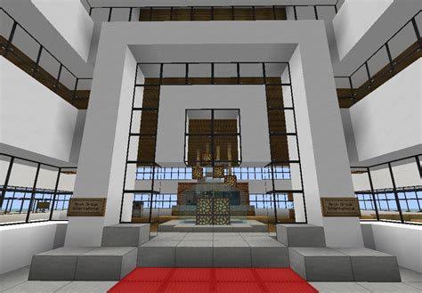 Forum Credit Union Office Modern Office Skyscraper Fully Furnished Minecraft Project