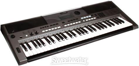 Keyboard Yamaha E443 yamaha psr e443 61 key portable arranger sweetwater