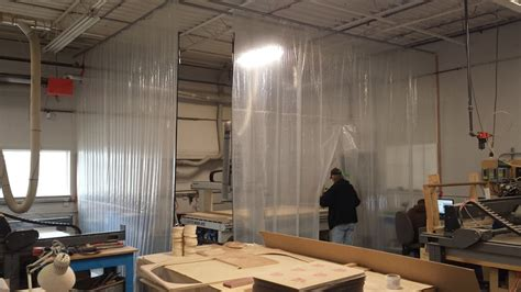 industrial dust curtains warehouse industrial curtain walls ancarr industrial