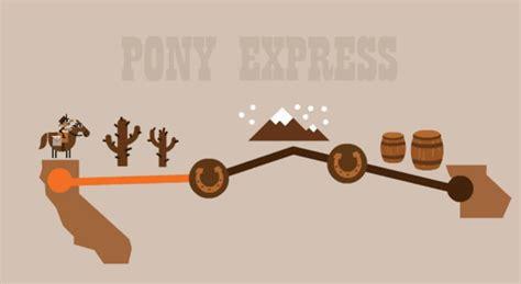 play doodle pony express en el 155 aniversario de pony express publica un