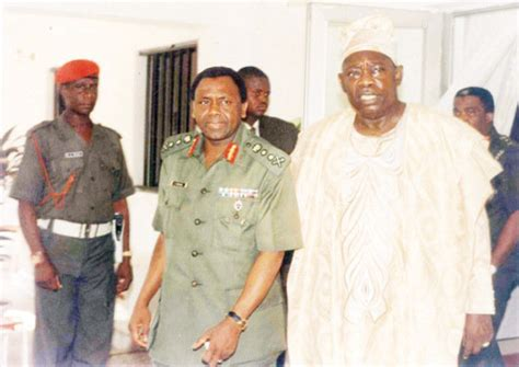 how abacha died 17 years ago al mustapha reveals gen gowon interviewed hours after surrender of biafra he