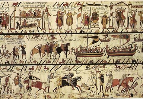 Les Tapisseries De Bayeux by The Bayeux Tapestry Embroidery Tapisserie