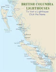 california lighthouses map vancouver island map