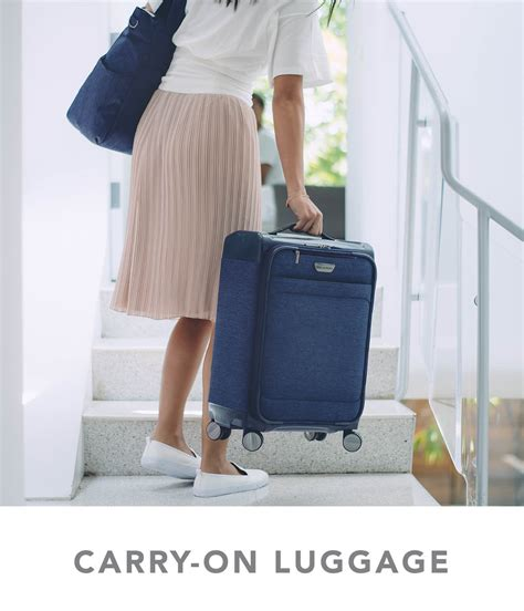 carry on carry on lightweight luggage suitcase ricardo beverly hills