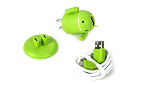 Charger Merk Model Robot Android product of the day android robot usb cell phone charger