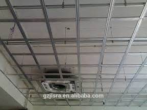 Acoustical Ceiling Grid Suspended Ceiling T Grid Ceiling Runner Ceiling System