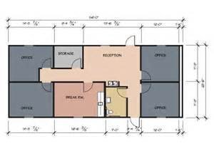 Small Office Building Floor Plans by 4 Small Offices Floor Plans Office Building Floor Plans