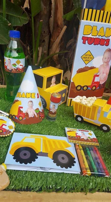 party themes jhb construction truck party supplies decor gauteng