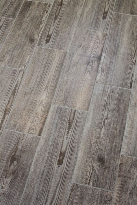Plank Floor Tile Bathroom Update Happenstance Home