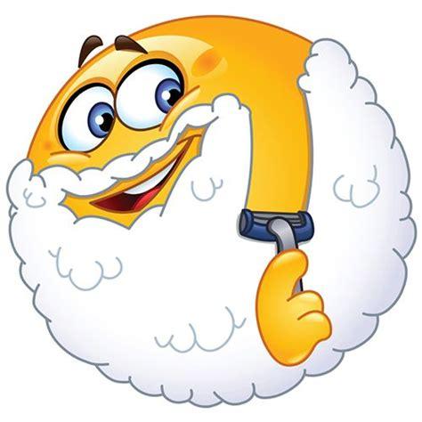 clean emoji shaving smiley smileys und rasieren