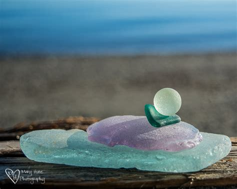 out of sea glass frosted sea glass frosted leaves tales from the backroad