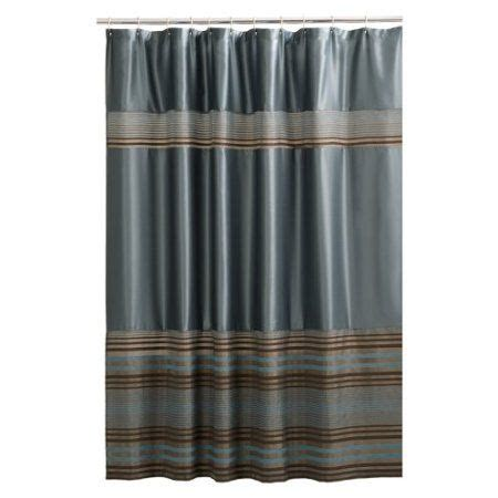 blue and brown shower curtain shower curtain blue brown for the home pinterest