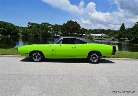 sublime green dodge charger for sale 1970 dodge charger r t 37 559 sublime green coupe