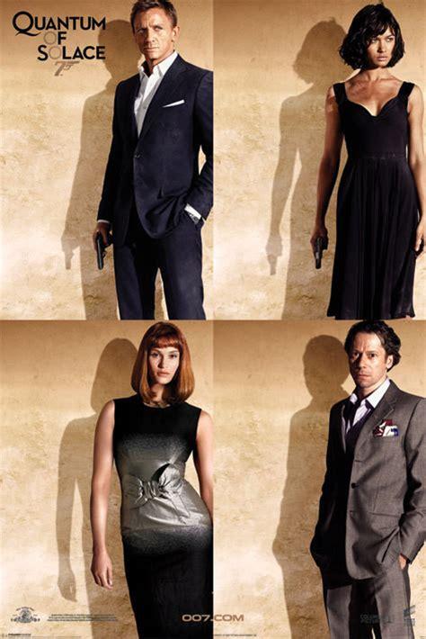 james bond quantum of solace film complet james bond 007 quantum of solace quartet poster sold