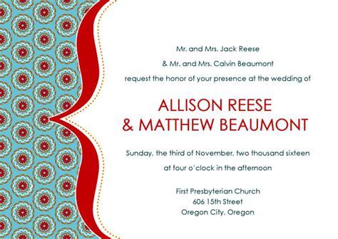 desain undangan pernikahan dalam bahasa inggris 16 desain undangan pernikahan bahasa inggris terbaik