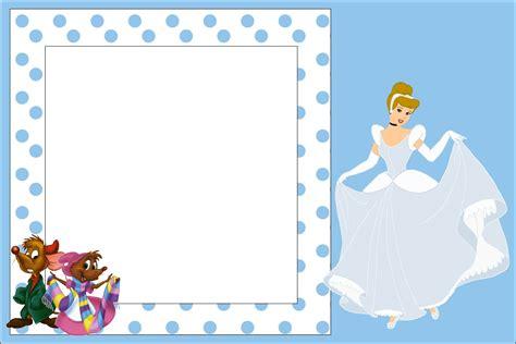 cinderella printable party decorations cinderella birthday party free printable invitations