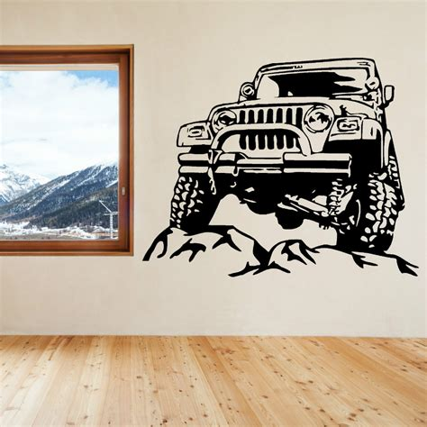 jeep wall art popular jeep wall decal buy cheap jeep wall decal lots