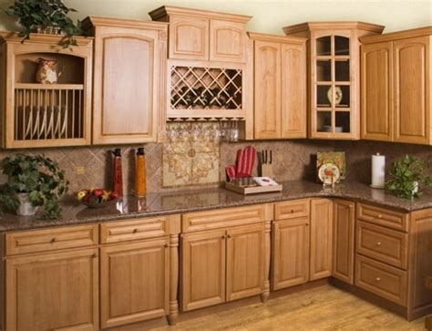 Oak Cabinet Kitchen Ideas by Kitchen Color Ideas With Oak Cabinets Afreakatheart