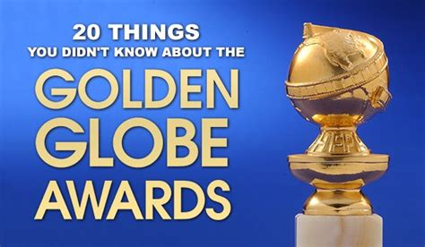 20 things you didn t know about your favorite classic hollywood 20 things you didn t know about the golden globes