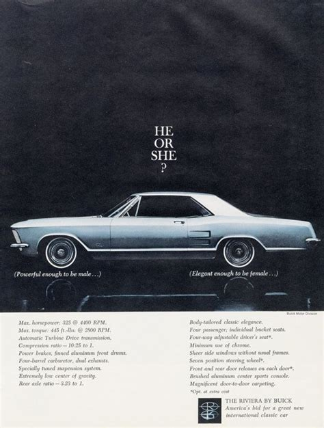 buick advertising 1963 buick riveria car ad blue automobile photo vintage