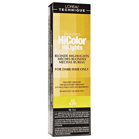 Loreal Hicolor l oreal excellence hicolor hilights permanent creme