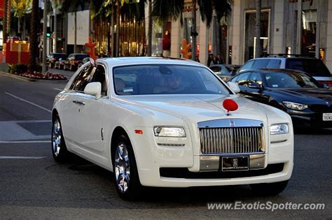 rolls royce california rolls royce ghost spotted in beverly california on