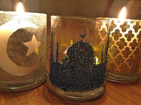 candle craft projects ramadan craft festive candle holder