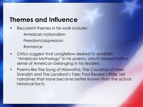 themes in literature evangeline ppt romanticism american literature powerpoint
