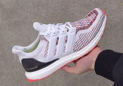 Adidas Ultraboost 30 New Year Original adidas ultra boost white multicolor