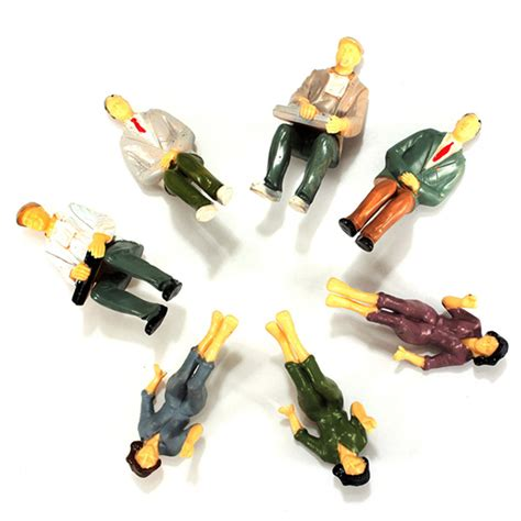 Toys Planning Painted Figures buy 20pcs building model railroad passenger painted figures bazaargadgets