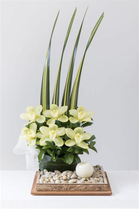 imagenes arreglos florales minimalistas como hacer arreglos florales artificiales modernos y muy