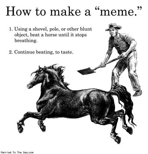 How To Create A Meme - married to the sea by drewtoothpaste how to make a meme