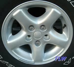 Jeep Stock Wheel Size 1999 Jeep Oem Factory Wheels And Rims