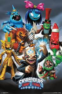 skylanders trap team baddies poster 61x91 5