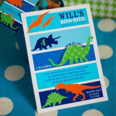 dinosaur birthday party printable invitation