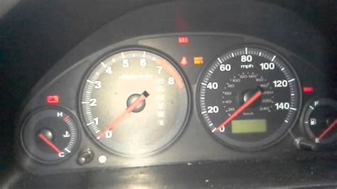 2002 lx check engine light on and reads a p1298 turn off maintenance required light on honda accord reset maint reqd youtube read codes from