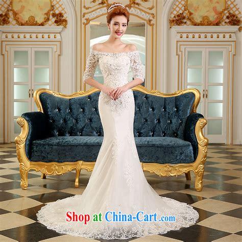 Vanesa Dress Korea Abu Abu the wedding dresses summer 2015 new marriages wedding fashion korean wedding a shoulder