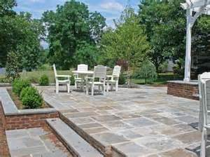 Raised Paver Patio Cost Two Level Bluestone Patio Costs Home Design Stains And Home