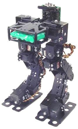 lynxmotion biped robot scout  servos robotshop