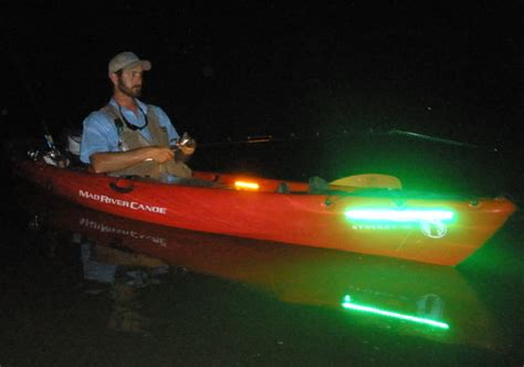 kayak lights for fishing fishing with the wildcat lighting system the ack
