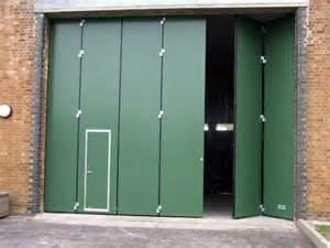 Bi folding panel doors folding industrial doors q door hag uk