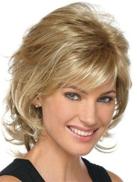short layered hair styles with soft waves haircuts for fine hair to give volume boyshairstyles us