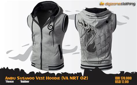 Vest Rompi Hoodie 420 1 jual rompi hoodie anbu susanoo vest anime